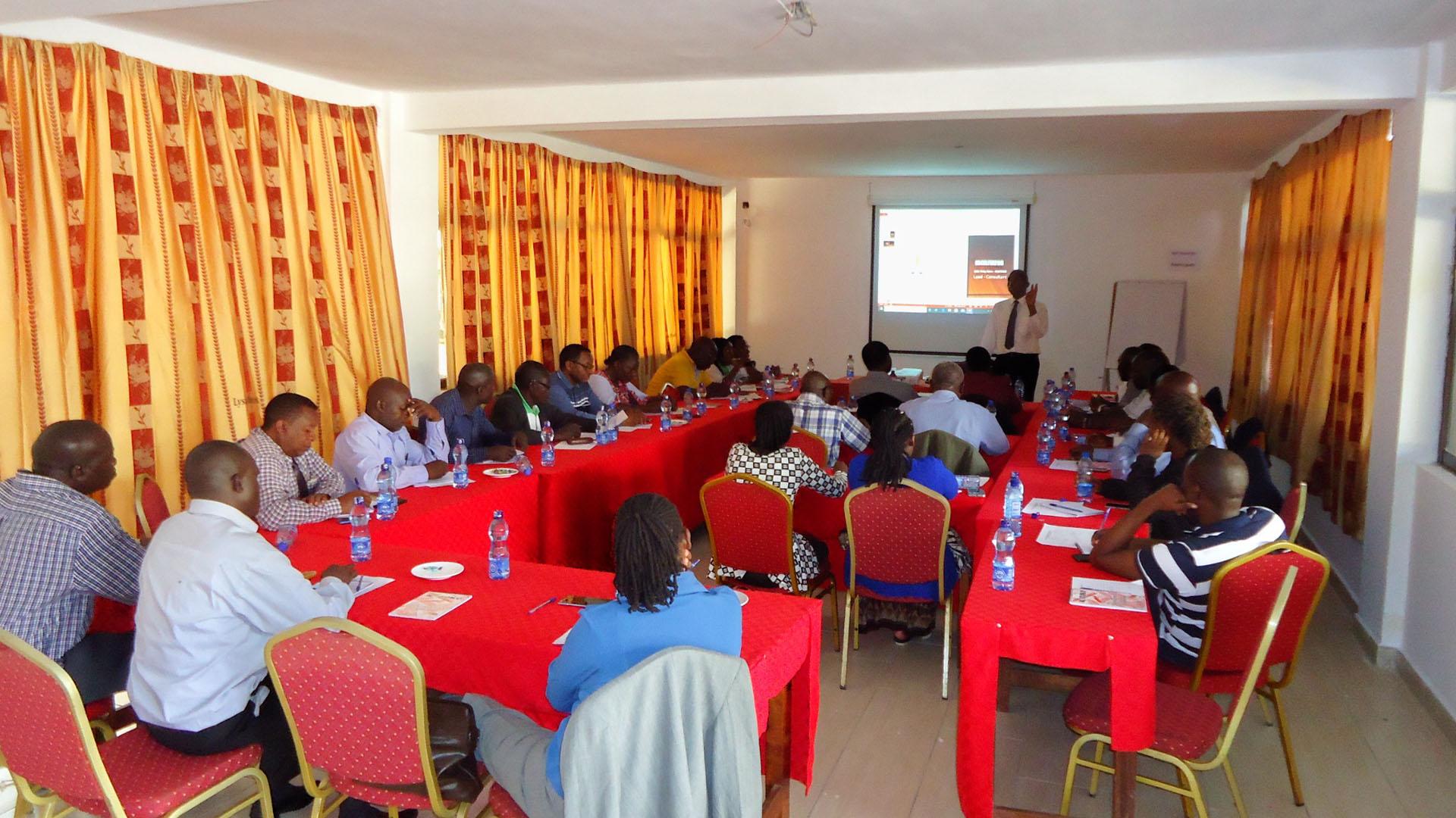 Reli Sacco Delegates Training in Machakos County 2