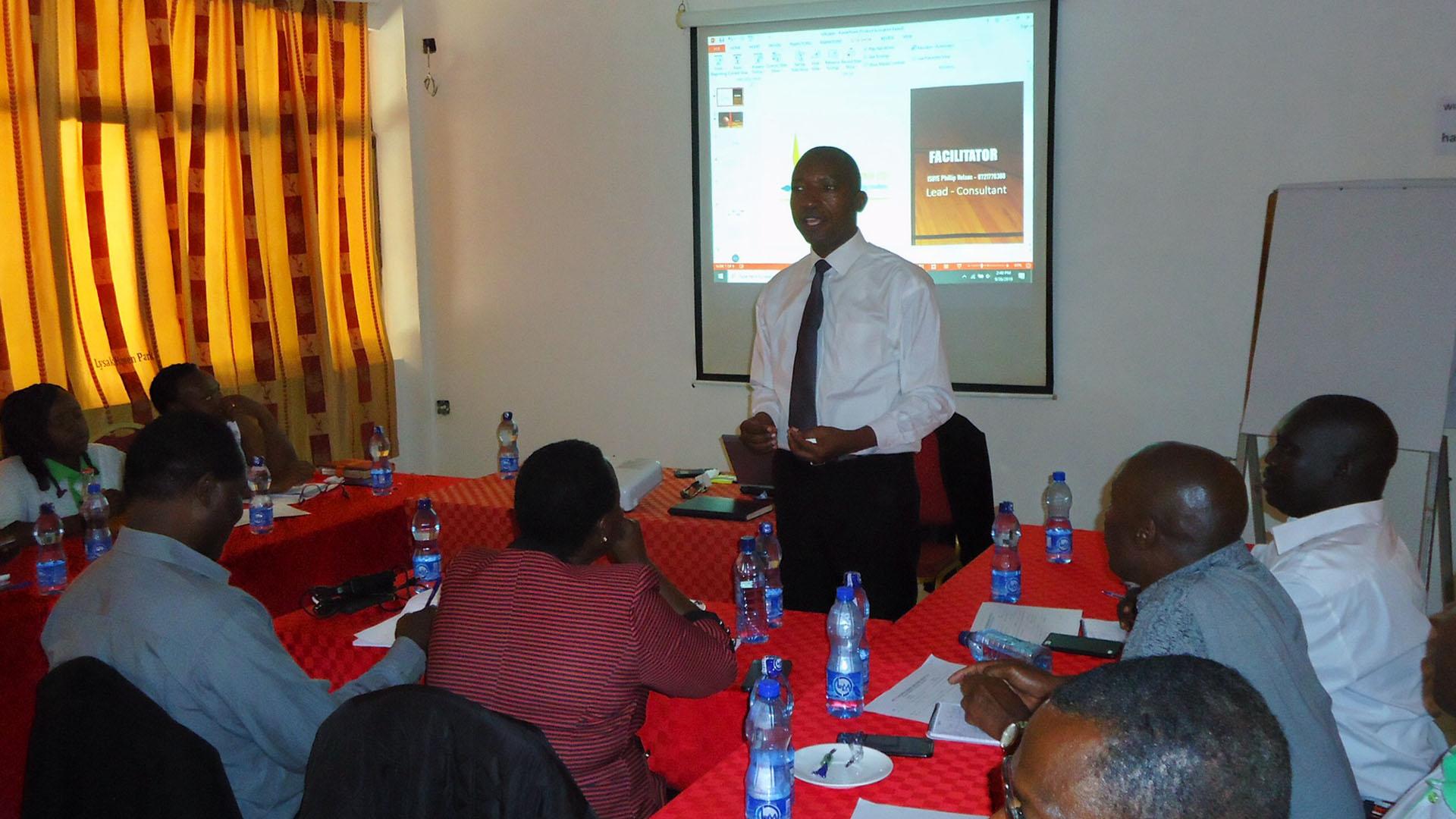 Reli Sacco Delegates Training in Machakos County
